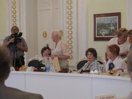 Георгий Полтавченко и Светлана Орлова встретились с жителями блокадного Ленинграда, живущими во Владимирской области.