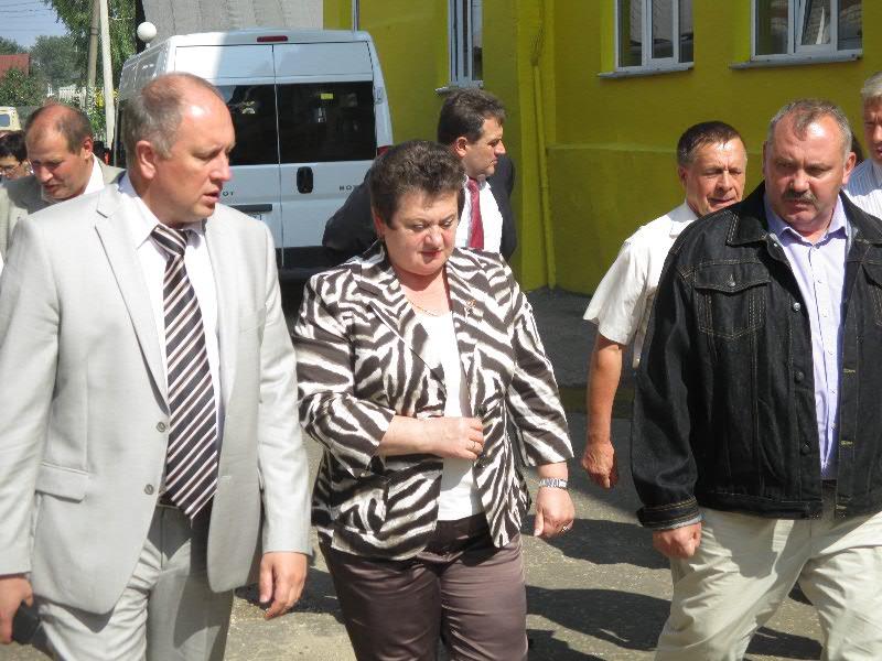Врио губернатора Владимирской области Светлана Орлова посетила Гороховецкий завод подъемно-транспортного оборудования «Элеватормельмаш».