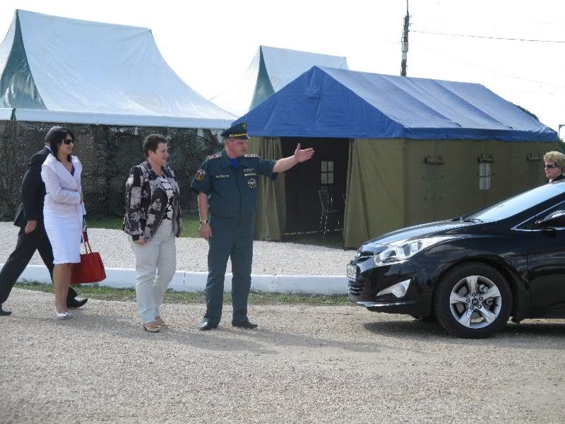 Светлана Орлова посетила учебно-методические сборы для глав муниципальных образований Владимирской области по демонстрации готовности к чрезвычайным ситуациям.