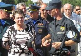 Светлана Орлова посетила учебно-методические сборы для глав муниципальных образований по демонстрации готовности к чрезвычайным ситуациям.